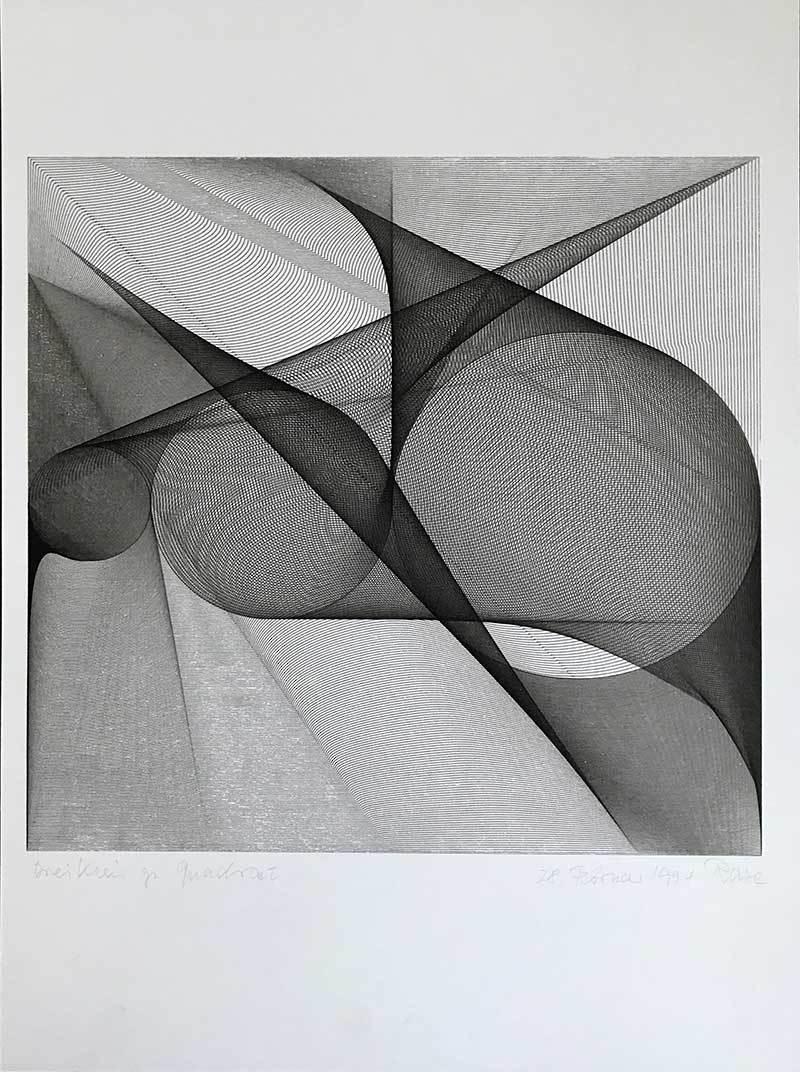 Dreikreis zu Quadrat