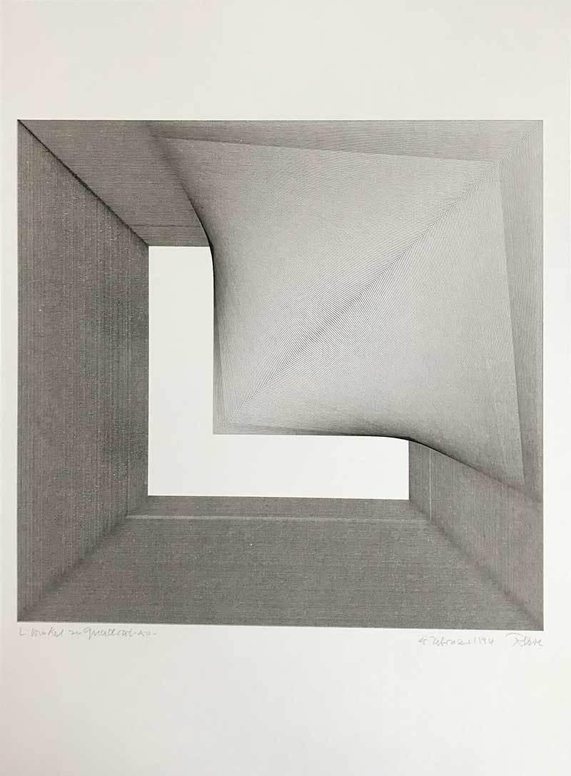 L - Winkel zu Quadrat