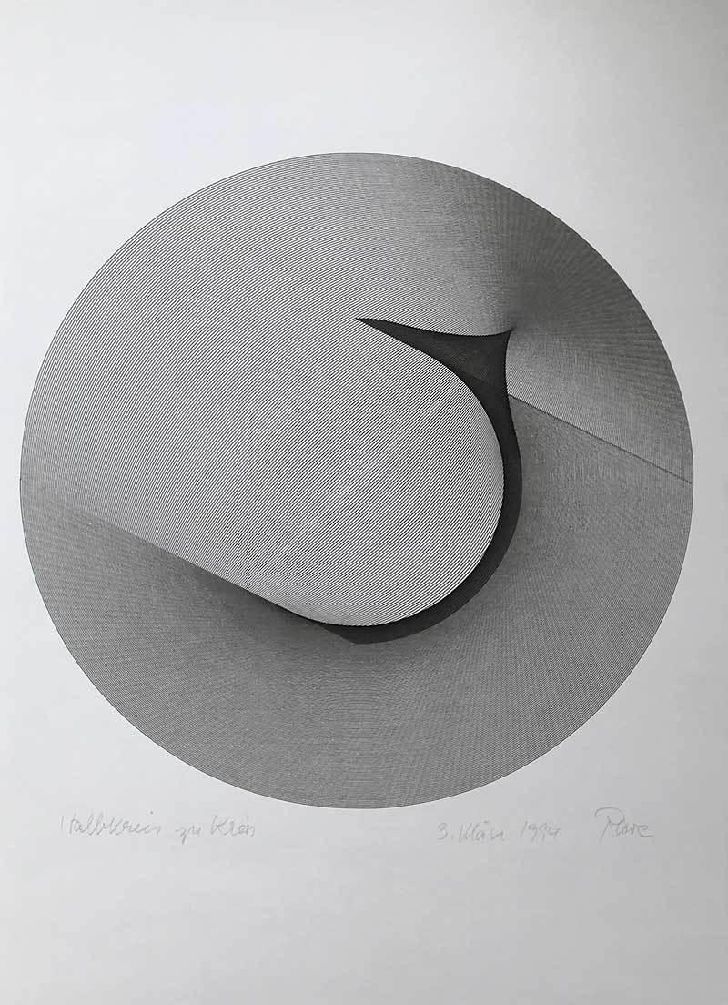Halbkreis zu Kreis