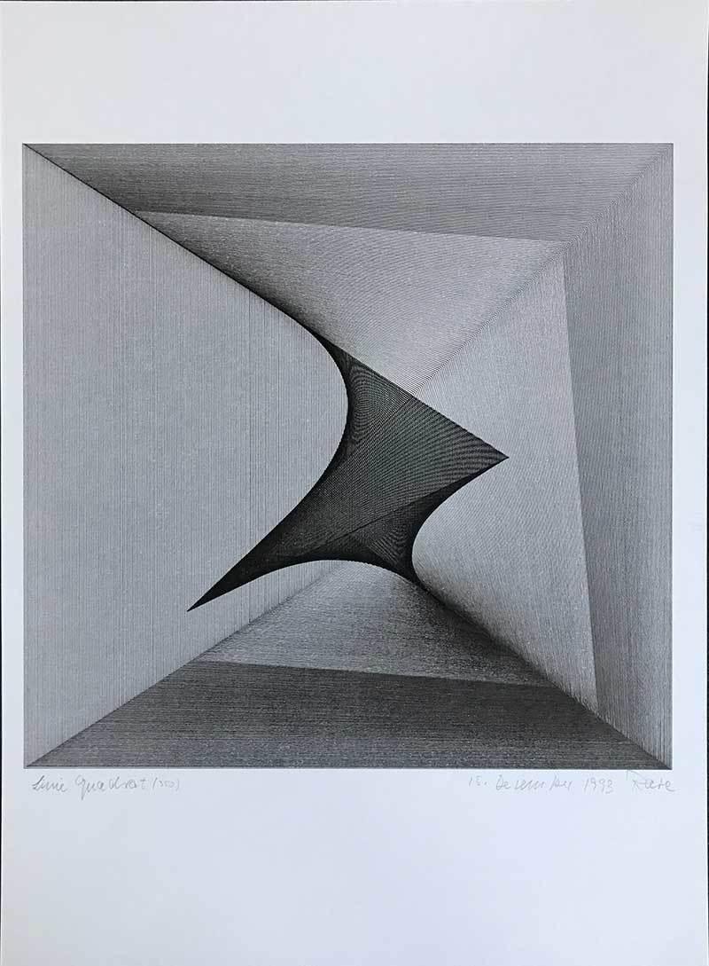 Linie Quadrat