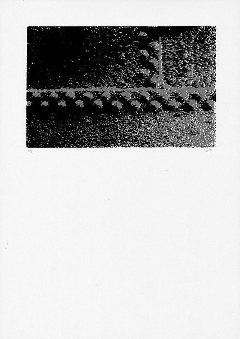 """ohne Titel, aus der Mappe """"Im Stahlwerk"""""""