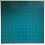 ohne Titel I 8 (blau/grün)