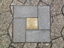 St. Wendel, Demnig, Stolperstein, Sender, Gustav