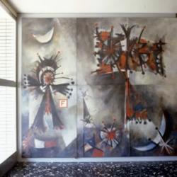 Homburg, Juncker, Wandgestaltung