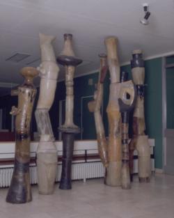 Homburg, Schuller, Keramik-Objekte