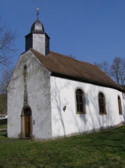 Kleinblittersdorf-Auersmacher, Kuchlinger Kapelle bzw. St. Wendalinus und St. Agatha