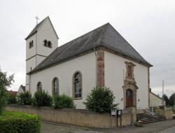 Mandelbachtal, Habkirchen  Pfarrkirche St. Martin