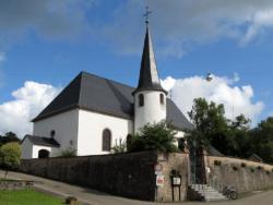 Mandelbachtal-Bebelsheim, Pfarrkirche St. Margaretha und St. Quinten (Wallfahrtsstätte)