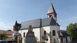 Perl, Eft-Hellendorf, Pfarrkirche St. Philippus und St. Jakobus