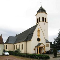 Heusweiler-Holz, Pfarrkirche St. Josef