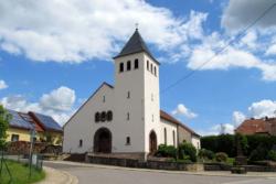 Blieskastel-Pinningen (bis 2007 Neualtheim)  Filialkirche Maria Heimsuchung