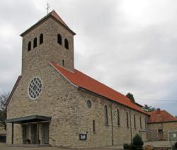Kleinblittersdorf-Bliesransbach,  Pfarrkirche St. Lukas