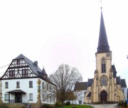 Tholey, Hasborn-Dautweiler, Katholische Pfarrkirche S. Bartholomäus