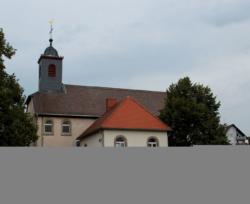 Kleinblittersdorf-Bliesransbach   Alte Kirche St. Lukas, profaniert, heutiges Pfarr- und Jugendheim