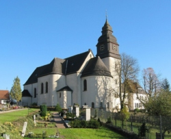 Nalbach-Piesbach, Pfarrkirche St. Johannes der Täufer