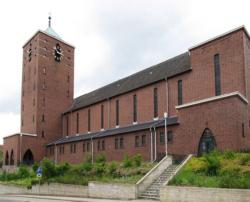 St. Ingbert-Mitte, Pfarrkirche St. Hildegard
