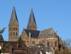 """Püttlingen-Berg,  Pfarrkirche St. Sebastian bzw. """"Köllertaler Dom"""""""