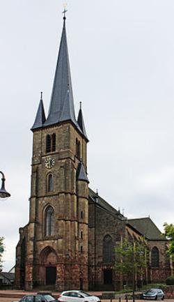 Wadern-Nunkirchen, Pfarrkirche Heiligstes Herz Jesu