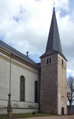 Nohfelden- Neunkirchen-Nahe , Katholische Pfarrkirche St. Martin