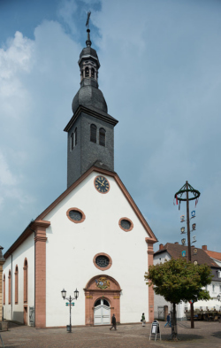 """St. Ingbert-Mitte, Pfarrkirche St. Engelbert (auch die """"Alte Kirche"""" genannt)"""