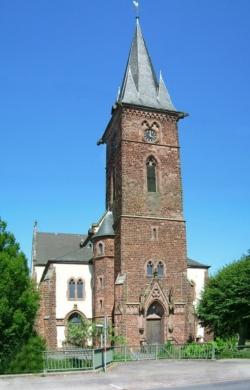 Merzig, Besseringen, Pfarrkirche Herz Jesu
