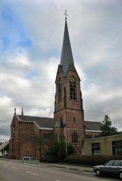 Heusweiler, Pfarrkirche Mariä Heimsuchung