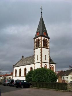 Heusweiler-Holz, Pfarrkirche