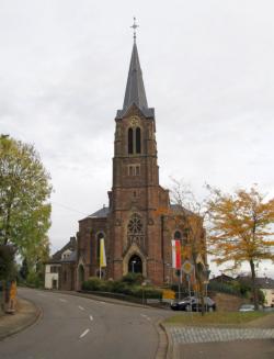 Püttlingen-Köllerbach, Pfarrkirche Herz Jesu
