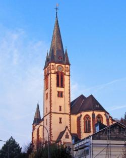 Völklingen-Geislautern, Pfarrkirche Mariä Himmelfahrt und St. Hubertus