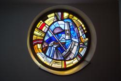St. Wendel, Busche, Bleiglasfenster