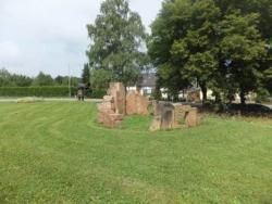 Merzig-Wellingen, Farina, Skulpturengruppe