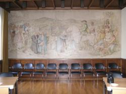 St. Wendel, Hannig, Wandgestaltung
