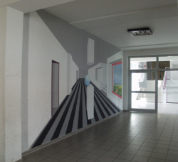 Mettlach-Orscholz, Herrmann, Wandgestaltung