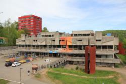 Saarbrücken, Universitätscampus, Mensa