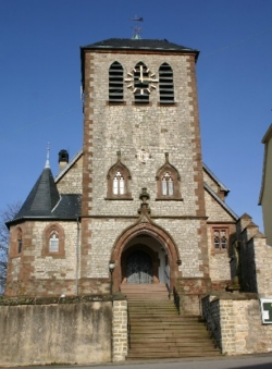 Mandelbachtal, Erfweiler-Ehlingen, Pfarrkirche St. Mauritius