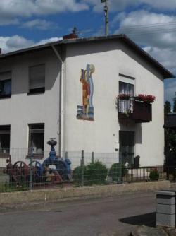 Mettlach, Kettenhofen, Wandgestaltung