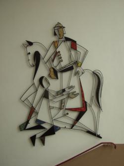 Merzig-Bietzen, Kettenhofen, Wandgestaltung