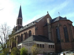 Lebach  Pfarrkirche Allerheiligste Dreifaltigkeit und St. Marien