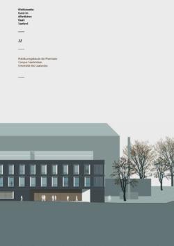 Wettbewerb Kunst im öffentlichen Raum 11 Praktikumsgebäude der Pharmazie, Campus Saarbrücken, Universität des Saarlandes