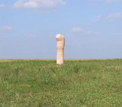 Merzig-Büdingen, Moshe Shek, Skulptur