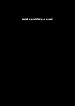 kunst<–gestaltung–>design