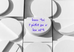 How to: Spiele zur Kunst
