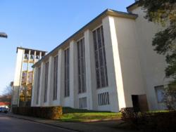 Saarbrücken, Dudweiler, Pfarrkirche St. Barbara