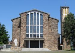Homburg-Erbach, Pfarrkirche Maria vom Frieden (Maria, regina pacis)