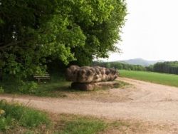 Namborn-Baltersweiler, Wurm, Skulptur