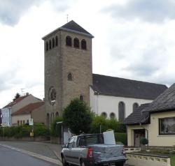 Wallerfangen-St. Barbara,  Filialkirche St. Salvator