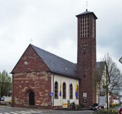 Losheim am See-Niederlosheim, Filialkirche St. Hubertus
