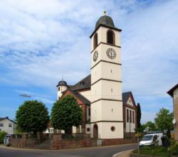 Losheim am See-Bachem, Pfarrkirche St. Willibrord