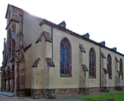Kleinblittersdorf, Rilchingen-Hanweiler, Pfarrkirche St. Walfridus bzw. St. Walfried