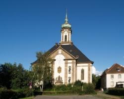 """Völklingen, Versöhnungskirche (so genannt seit 1968), ursprünglicher Name """"Erlöserkirche"""","""